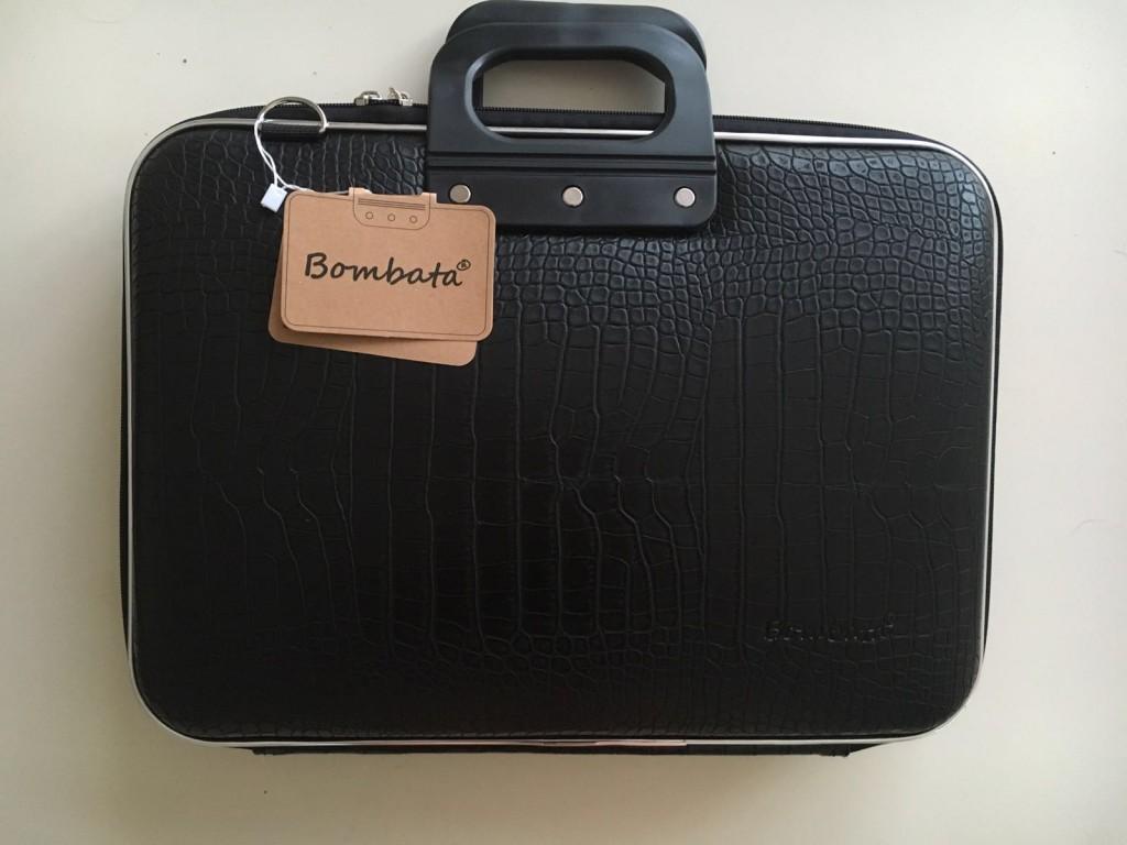 f0e7f1ca0e8 Fashionable laptoptas - Cocco zwart - Come-Moda