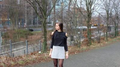 Cut-Out Sweater – Zaful
