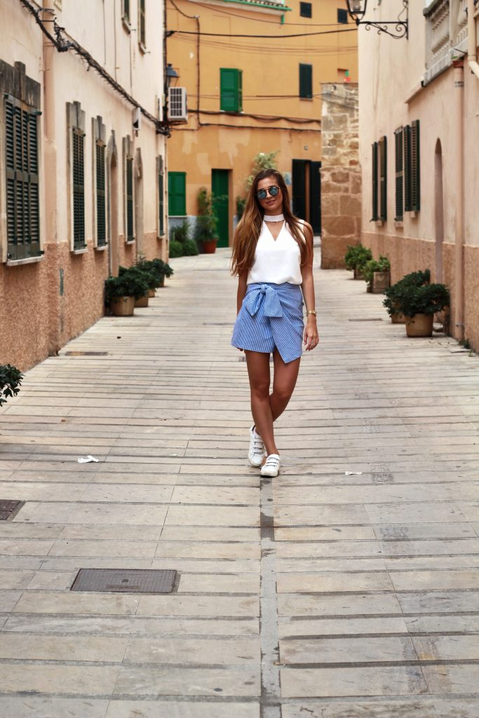 Blue Outfit Alcudia